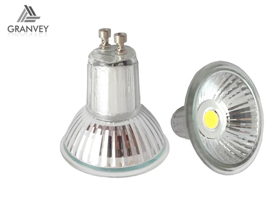 Lámpara LED, bulbos de cristal IP52 3000K/4000K/6000K del punto de GU10 MR15 del proyector del techo del LED