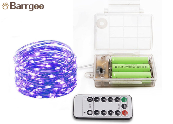 Luces de la ejecución del alambre de cobre LED, luces decorativas coloreadas de la secuencia para la sala de estar